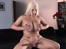 Big Breasted Holly Sweet Masturbating